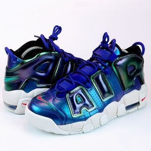 NEW Nike Air More Uptempo Court Purple/Rush Pink